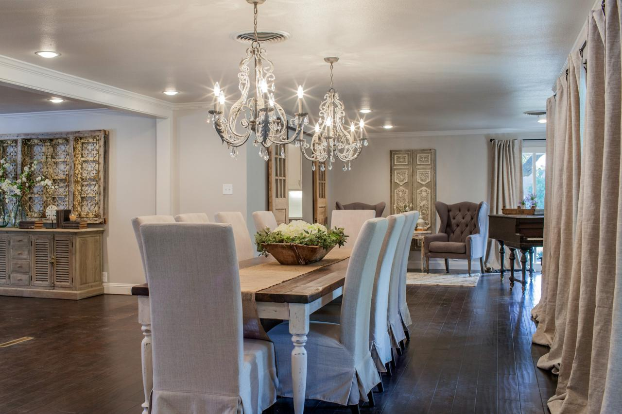Dining room country curtains - High End D Cor Using French Country Curtains
