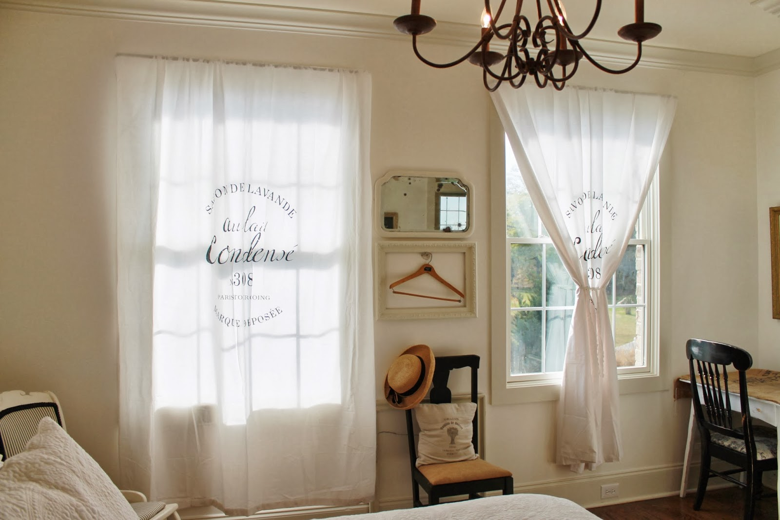 Rustic Calmness With French Country Window Treatments